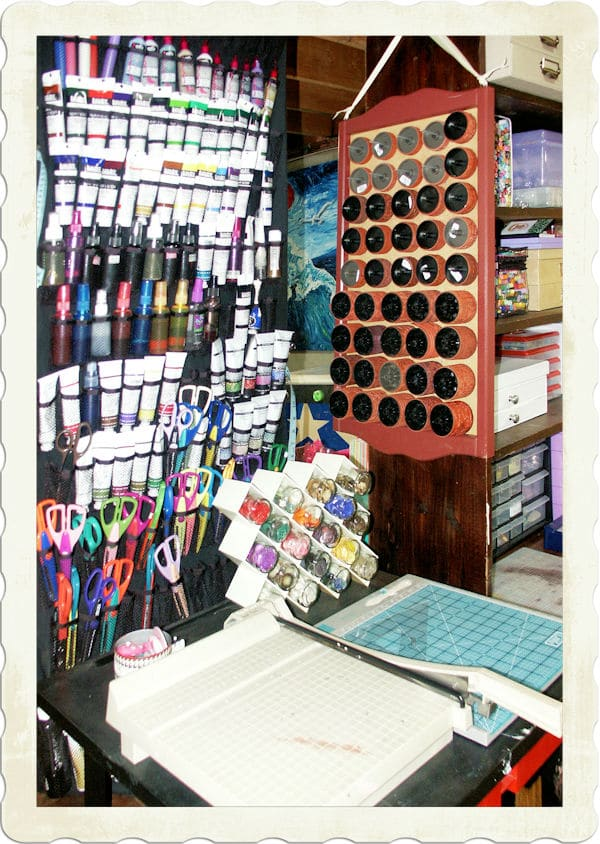 Craft room neatly done right