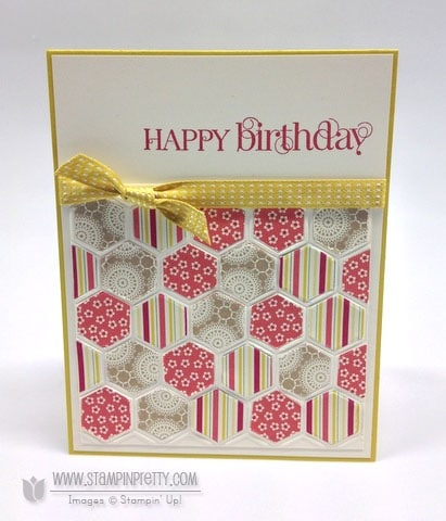 birthday card stamping