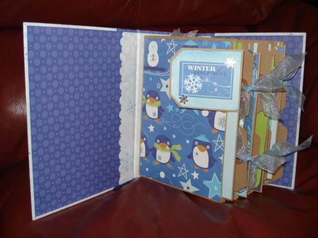 Winter frost blue album