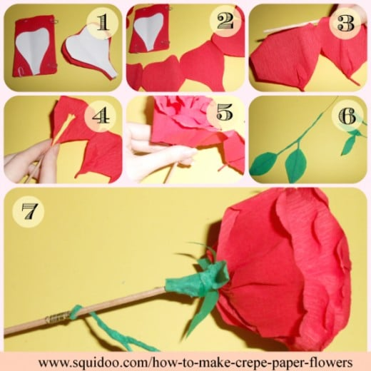 Handmade flowers with crepe paper step by step flowers healthy crepe paper roses crepe paper rose tutorial tutorials handmade roses daffodils calla lily s oh my crepe paper flowers making step by step flowers healthy mightylinksfo