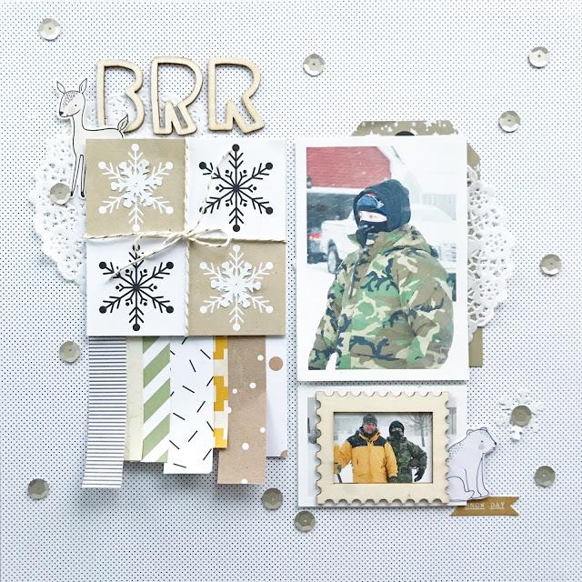 10 Winter Scrapbook Layouts Scrapbooking Store