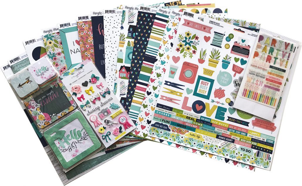 February 2018 Scrapbook Kit Scrapbooking Store