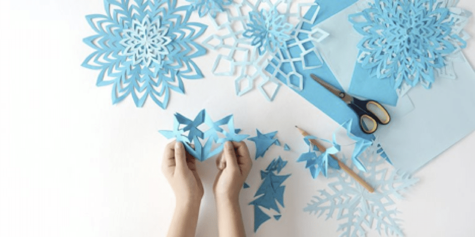 Paper Snowflakes Craft