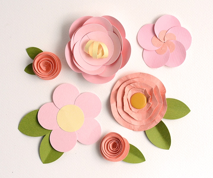 Paper Flowers Kid Crafts
