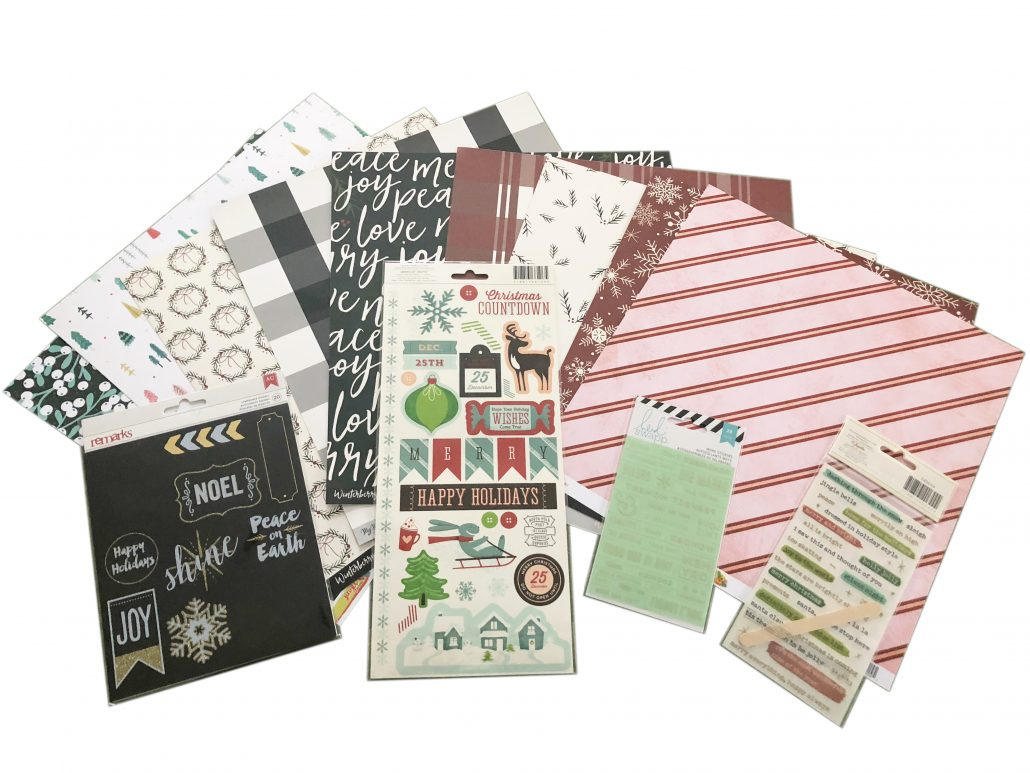 December Scrapbooking Kit