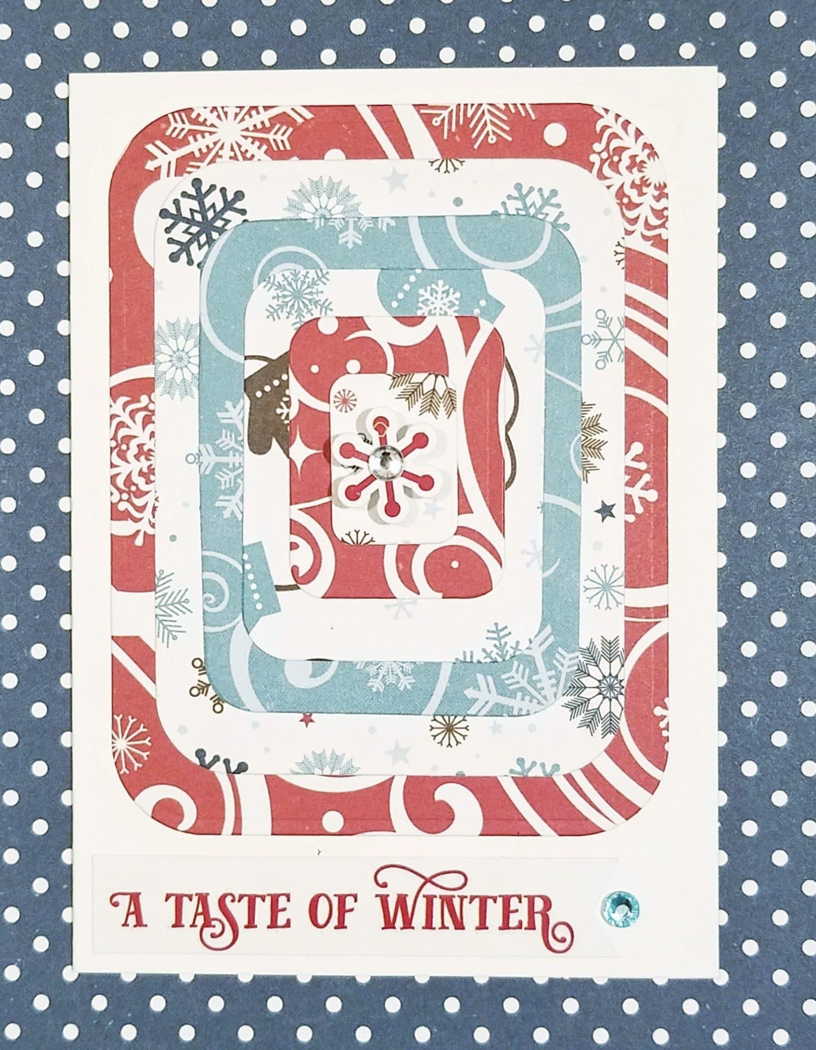 Paper craft card 1