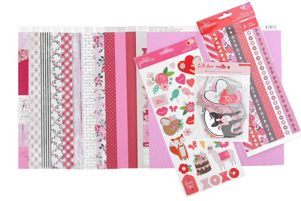 February 2019 Scrapbook Kit Reveal