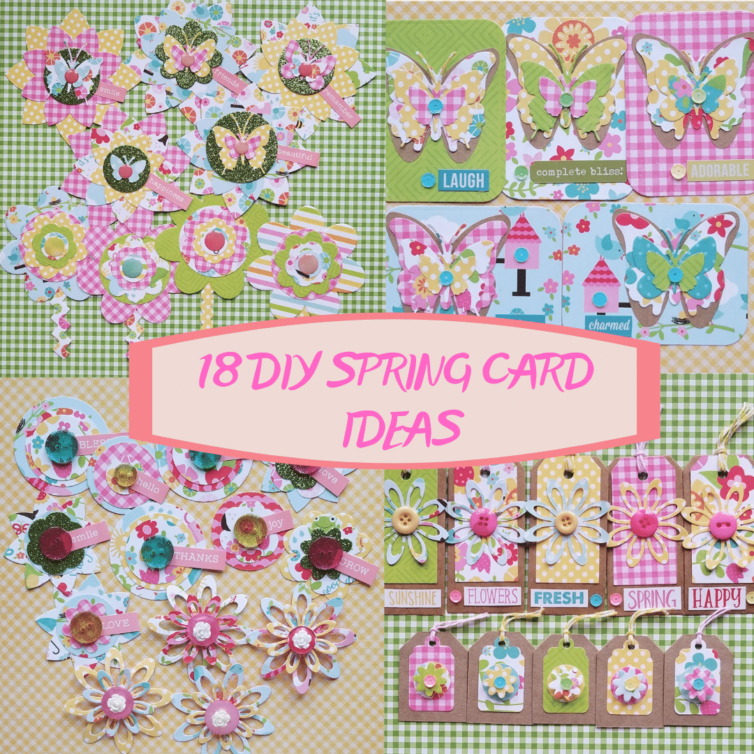 18 DIY Spring Card Ideas