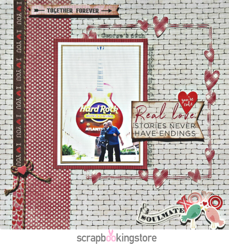 ScrapbookingStore - Marci favorite layout 2