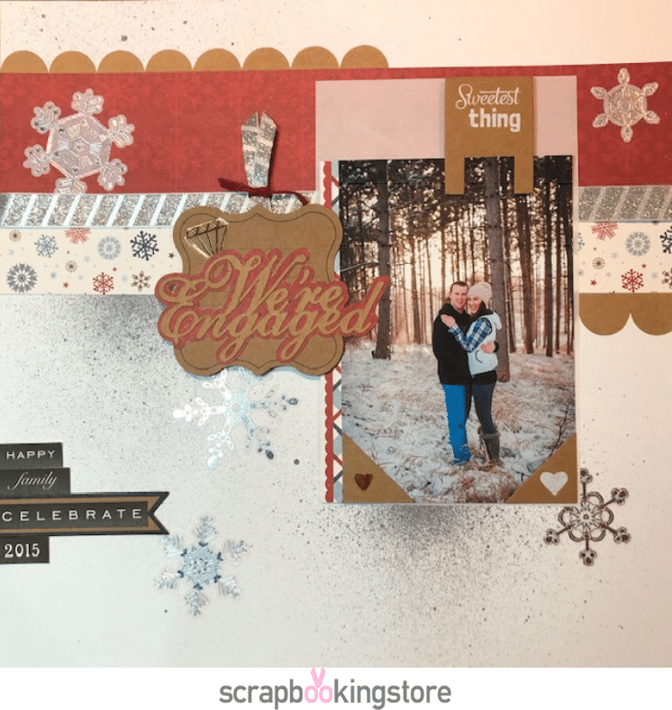 ScrapbookingStore - Melissa favorite layout