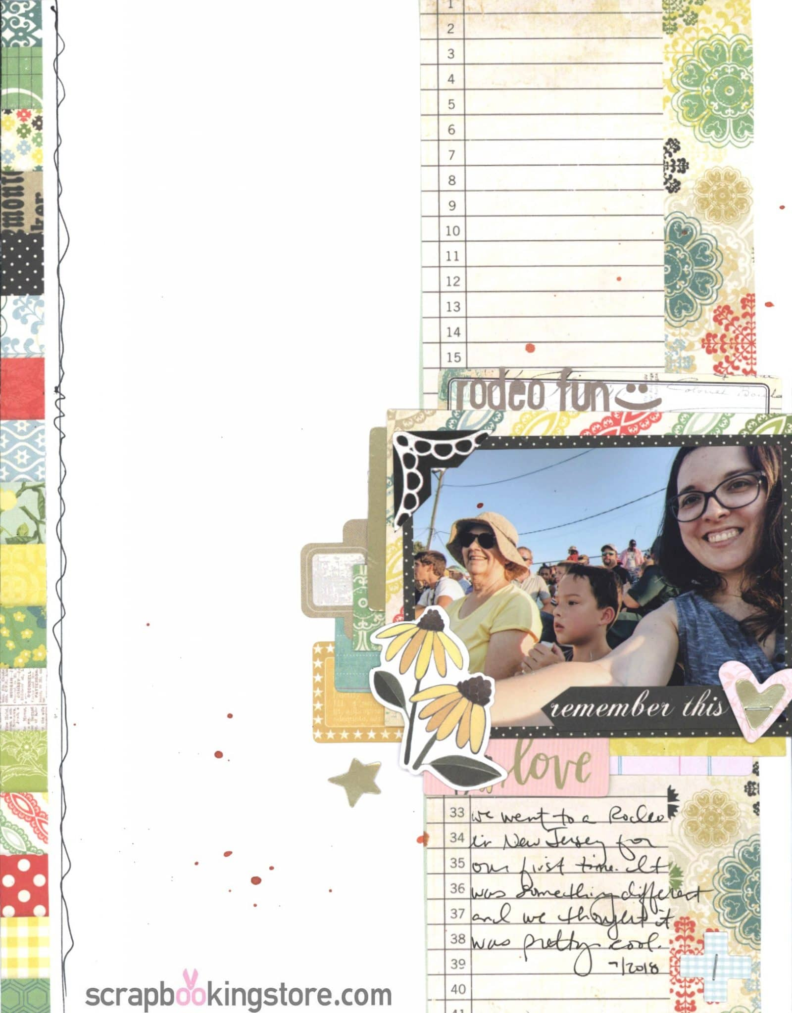 ScrapbookingStore - Nicole favorite layout