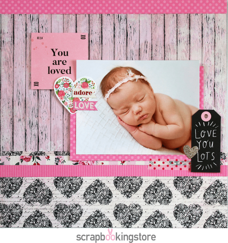 ScrapbookingStore - Samantha Taylor favorite layout