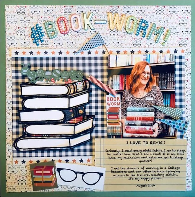 "ScrapbookingStore September 2019 kit - Our Design Team members used all crafting materials from our September 2019 monthly kit called ""Scholastic"" by Authentique"