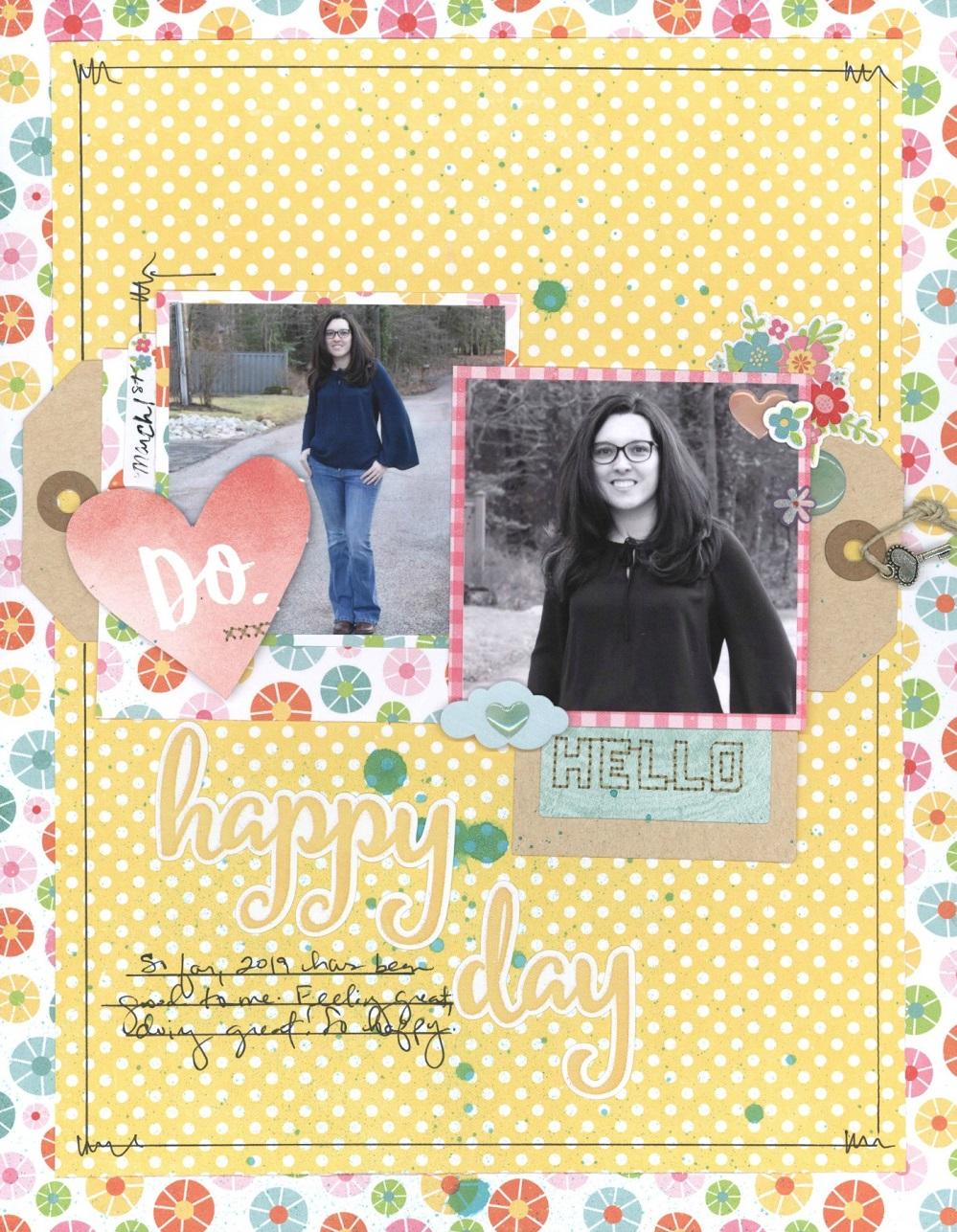 ScrapbookingStore - Nicole Martel using the March Kit