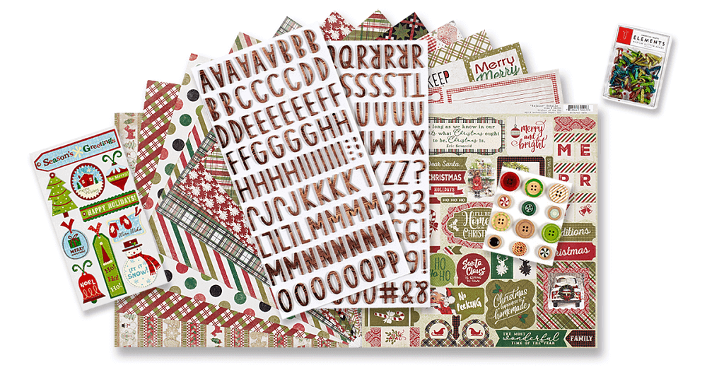 December 2019 Scrapbook Kit Reveal