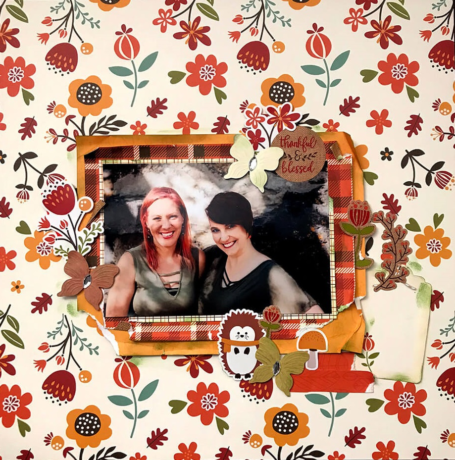 ScrapbookingStore November 2019 kit - Our Design Team members used all crafting materials from our November 2019 monthly kit called Celebrate Autumn by Echo Park.