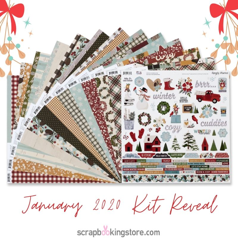 ScrapbookingStore January 2020 Scrapbook Kit Reveal