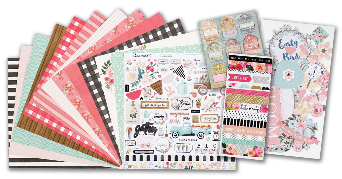 February 2020 Scrapbook Kit Reveal