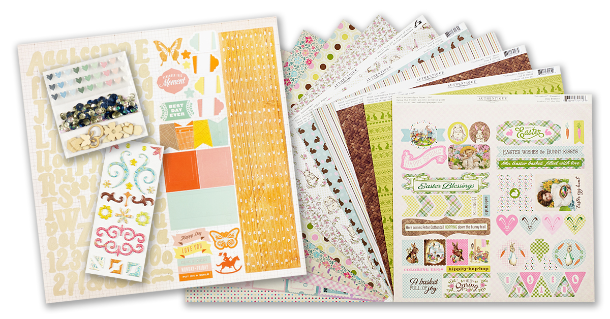 March 2020 Scrapbook Kit Reveal