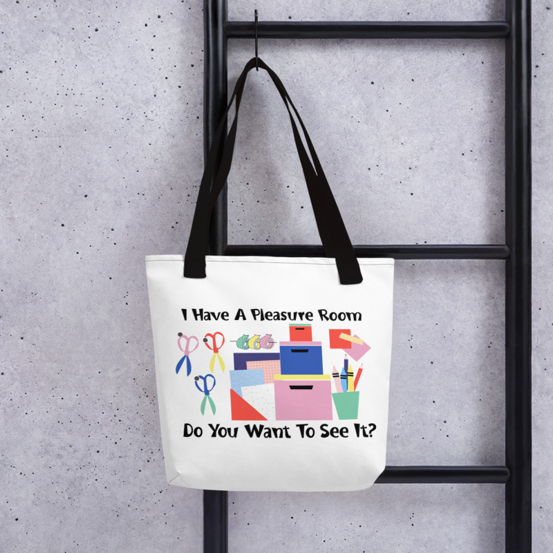 15x15 Pleasure Room Tote Bag