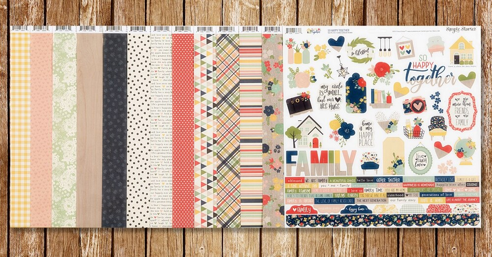 ScrapbookingStore May 2020 kit - One of a Kind by My Mind's Eye - scrapbook collection
