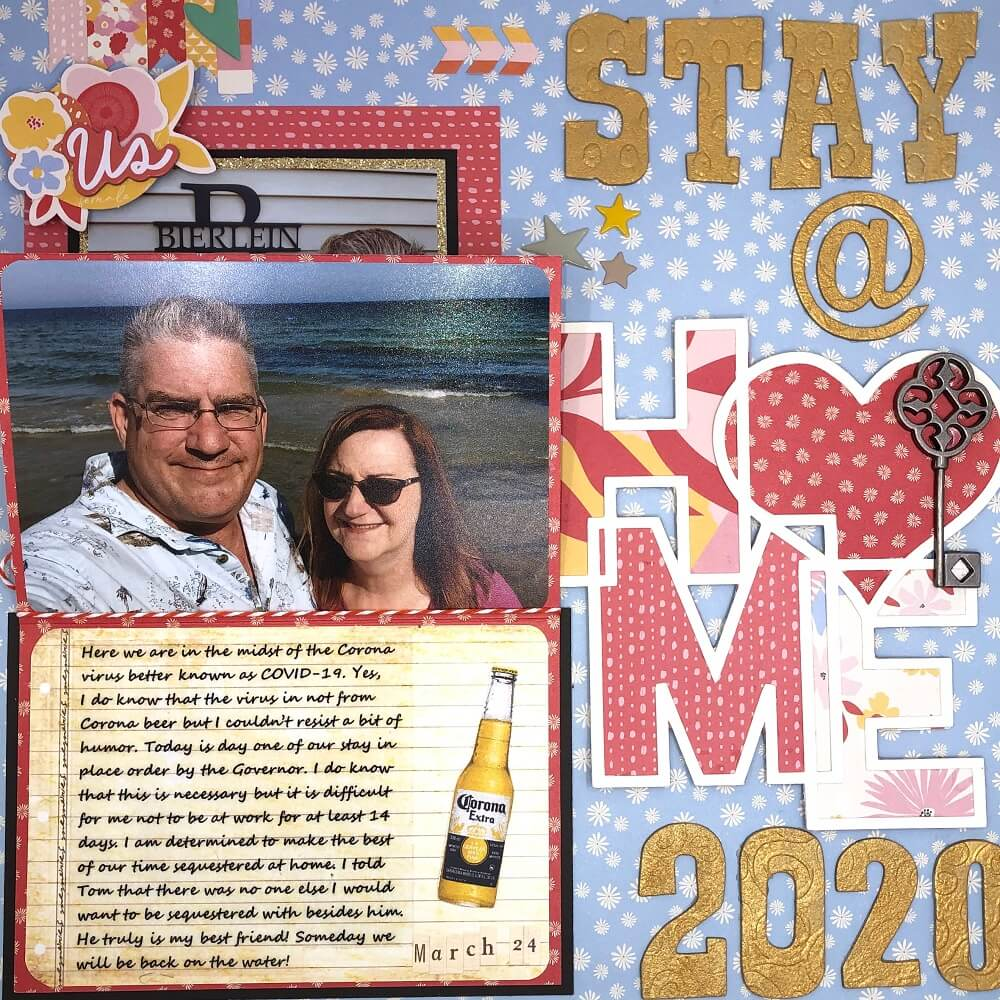 ScrapbookingStore April 2020 kit - One of a Kind by My Mind's Eye
