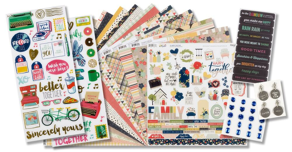 May 2020 Scrapbook Kit Reveal
