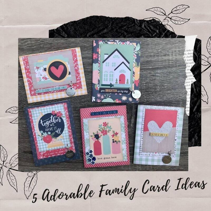 5 Adorable Family Card Ideas
