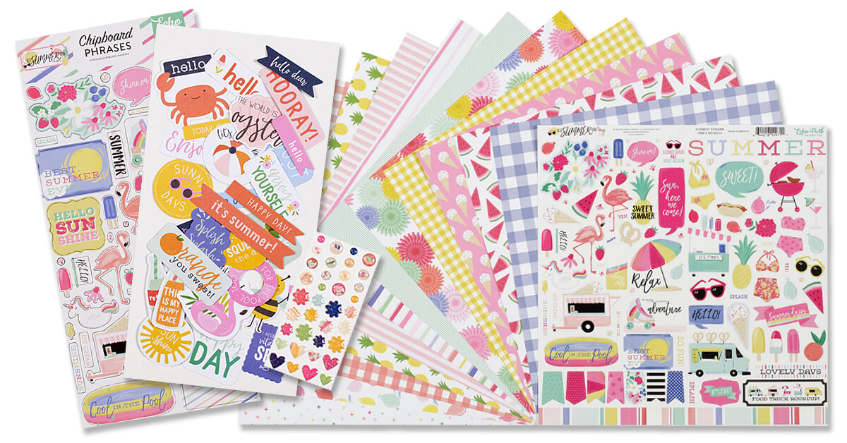 July 2020 Scrapbook Kit Reveal