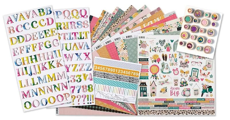 September 2020 Scrapbook Kit Reveal