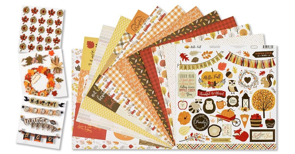 October 2020 Scrapbook Kit Reveal