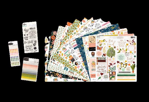 November 2020 Scrapbook Kit Reveal